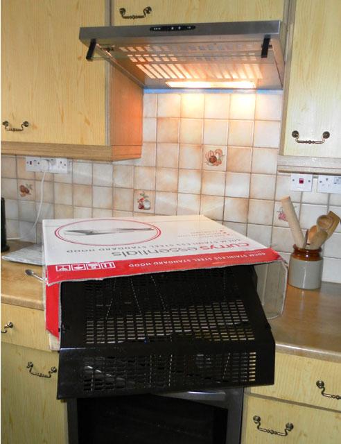 New cooker hood