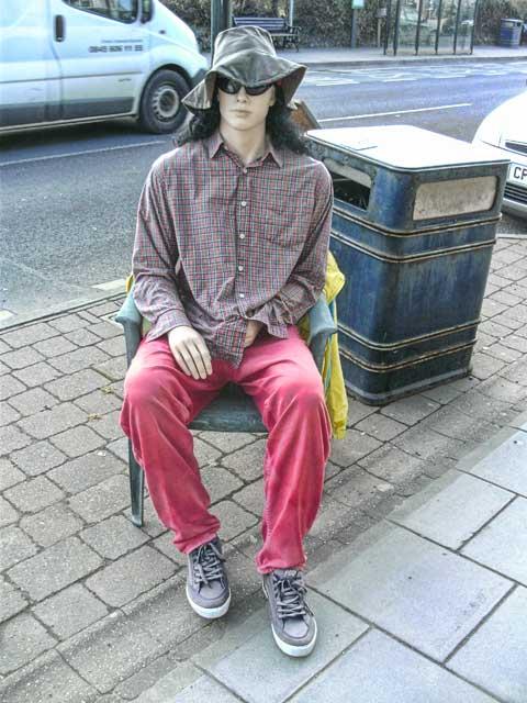 Mannequin wanking in Wales
